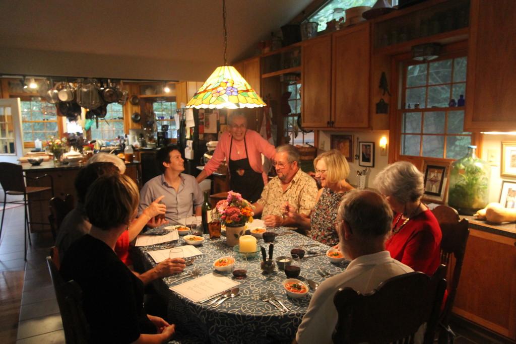 History Dinners at Indigo House